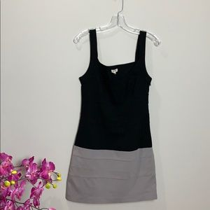Anthropologie Silence and noise black , grey dress